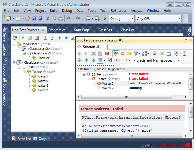 Preview of ReSharper for Visual Studio 2010 Coming Soon