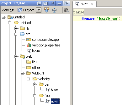 Enabling Template Files and Velocimacros Resolution | IntelliJ IDEA Blog