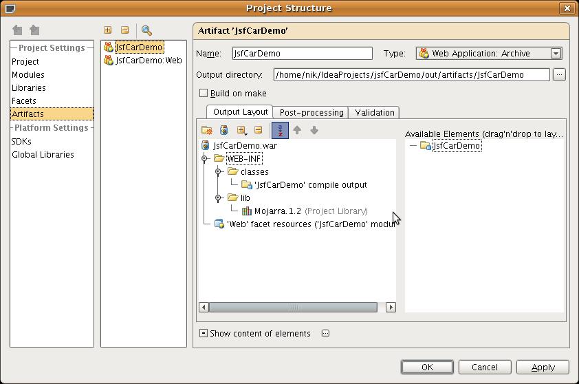 how to use docker intellij run project