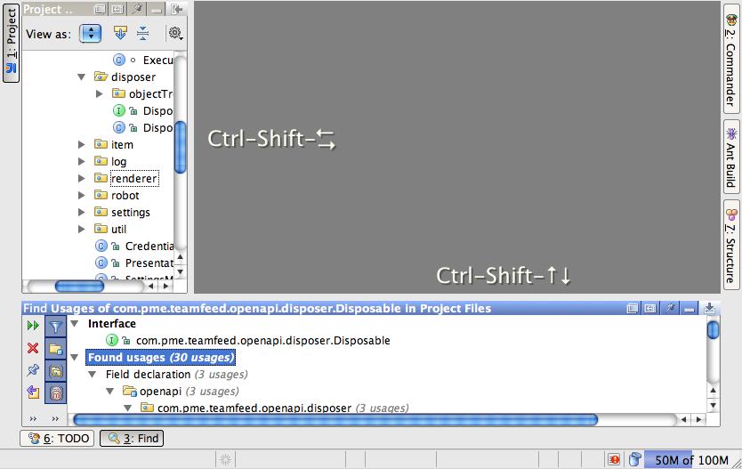 Resize (tool) windows with keyboard   IntelliJ IDEA Blog