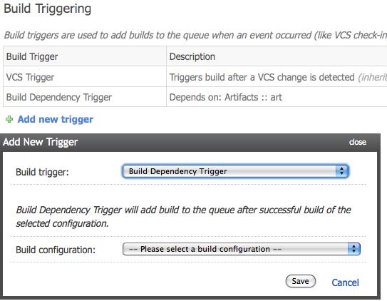 Reworked Build Triggering UI