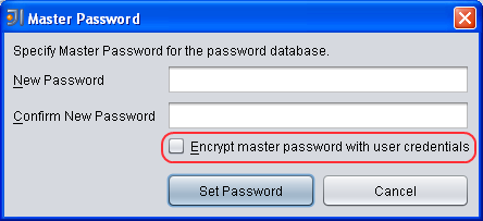Password Safe Dialog