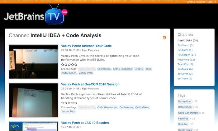 JetBrains TV
