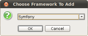 Choose Symfony Framework To Add