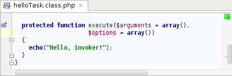 HelloTask class execute function