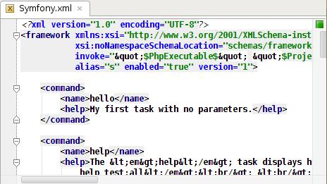 Hello command description