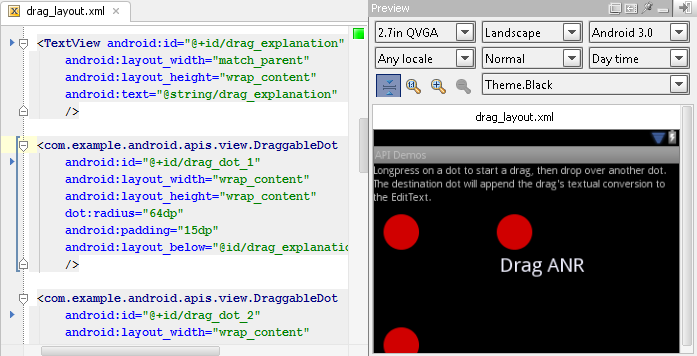 New in IntelliJ IDEA 11: Preview of Android UI layouts | IntelliJ