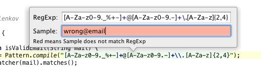 How to check your RegExps in IntelliJ IDEA 11?   IntelliJ