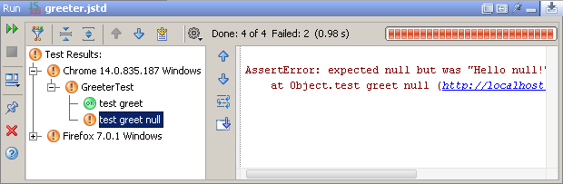 js test driver on webstorm