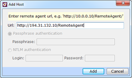 Remote profiling with dotTrace 5.0 Performance