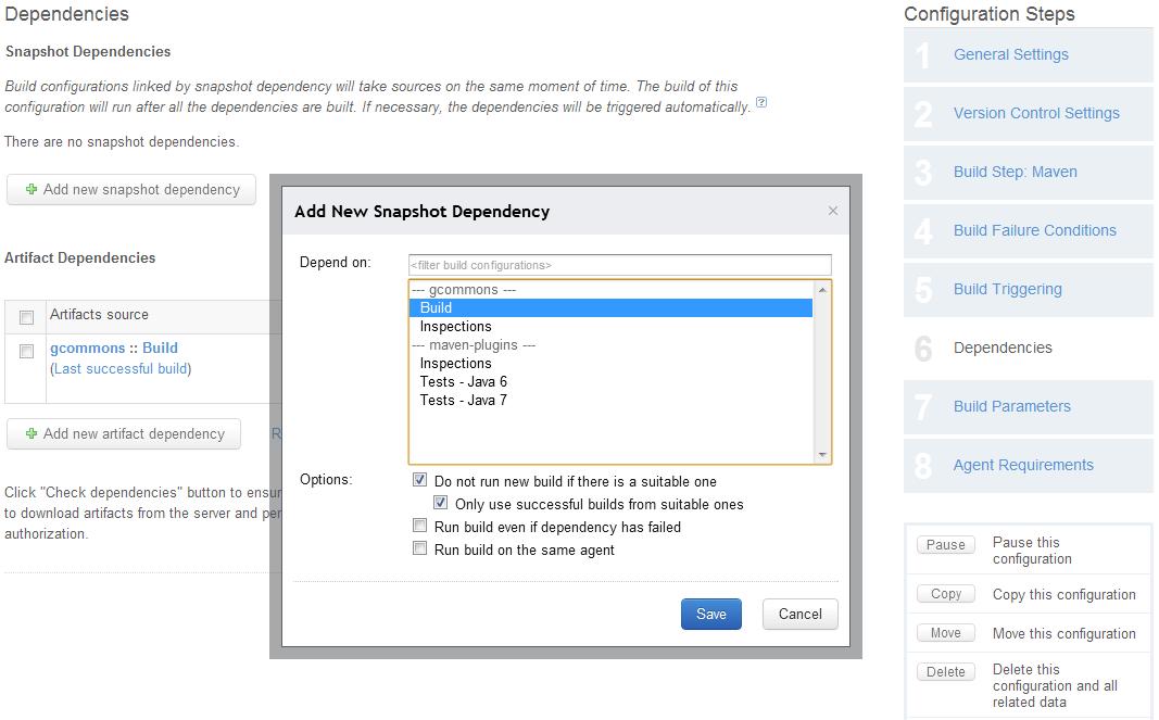 TeamCity Build Dependencies | TeamCity Blog