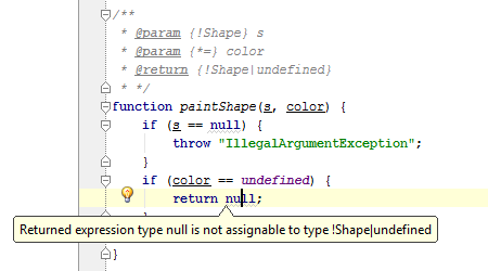 Validating JavaScript code with JSDoc types annotations | WebStorm Blog