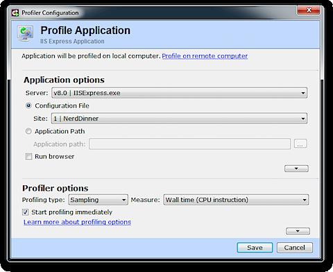 dotTrace Profiler Configuration