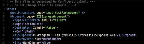dotTrace XML configuration file