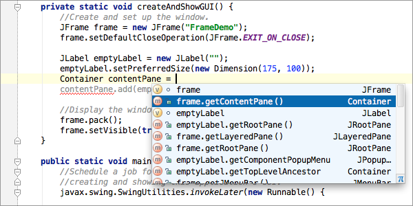 Top 20 Features of Code Completion in IntelliJ IDEA - DZone Java