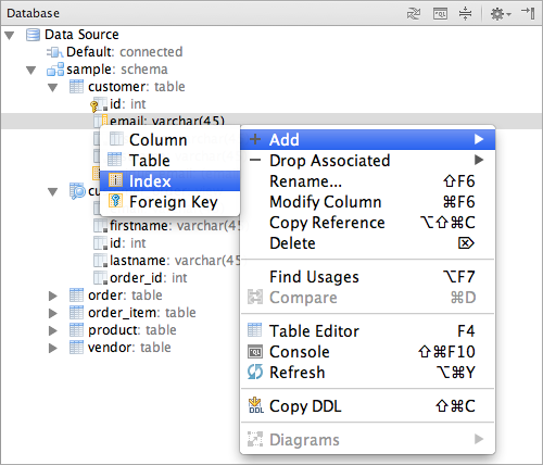 manage your database schema from the ide - Db Schema Design Tool