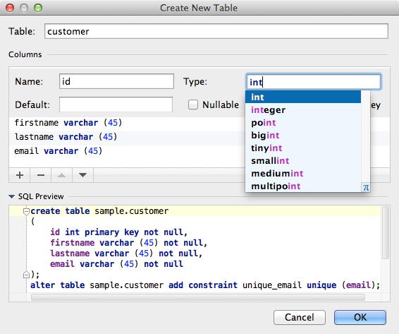 Manage Your Database Schema in IntelliJ IDEA 12 | IntelliJ