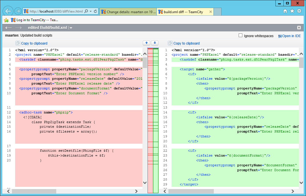 Continuous Integration for PHP using TeamCity | PhpStorm Blog