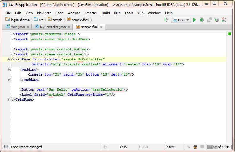 Support for JavaFX 2 in IntelliJ IDEA 12 1 | IntelliJ IDEA Blog