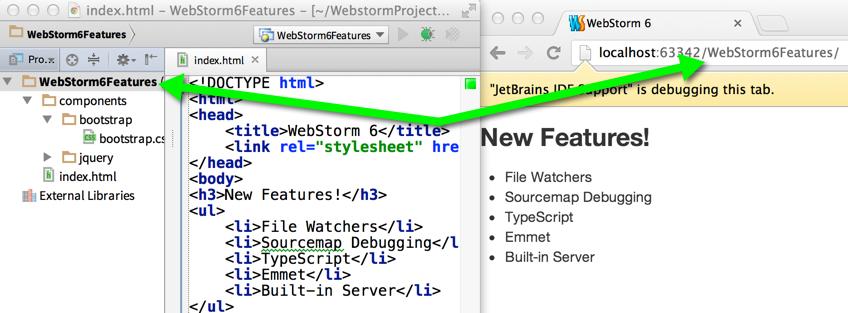Built-in Server in WebStorm 6   WebStorm Blog
