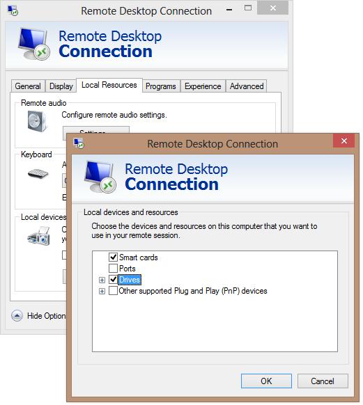 Windows Azure access local filesystem