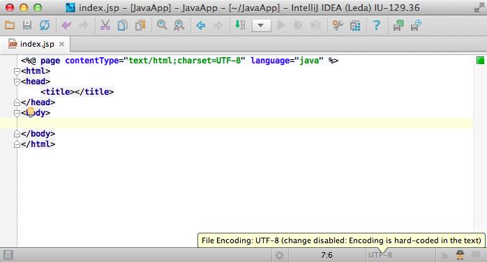 Use the UTF-8, Luke! File Encodings in IntelliJ IDEA