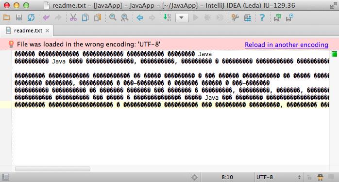 Use the UTF-8, Luke! File Encodings in IntelliJ IDEA | IntelliJ IDEA