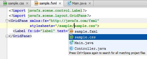Support for JavaFX 2 CSS in IntelliJ IDEA 12 1 | IntelliJ