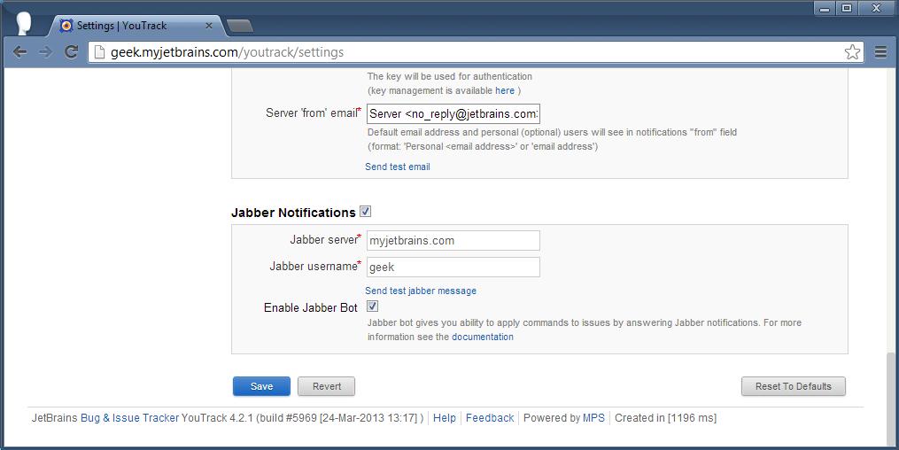 Enabling Jabber-Bot