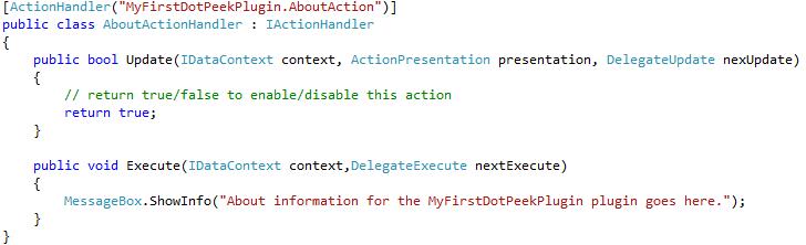 Creating plugins for dotPeek -  NET Tools Blog NET Tools Blog