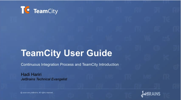 TeamCity User Guide