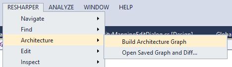 Architecture Explorer Menu Item