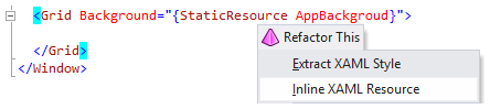 ReSharper 8 inline resource action