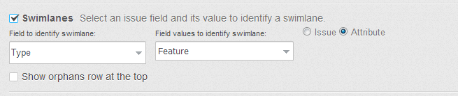 Swimlanes based on Attributes