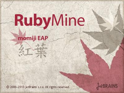 RubyMine Momiji EAP