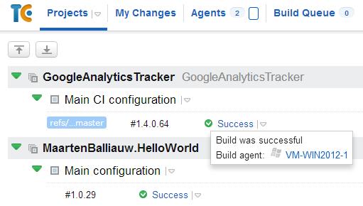 Build agent