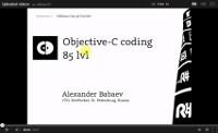 Objective-C Coding. 85 lvl