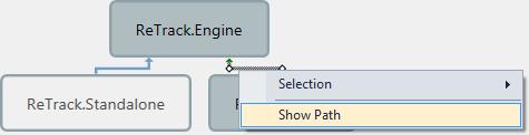 ReSharper Architecture View Show Path Context Menu
