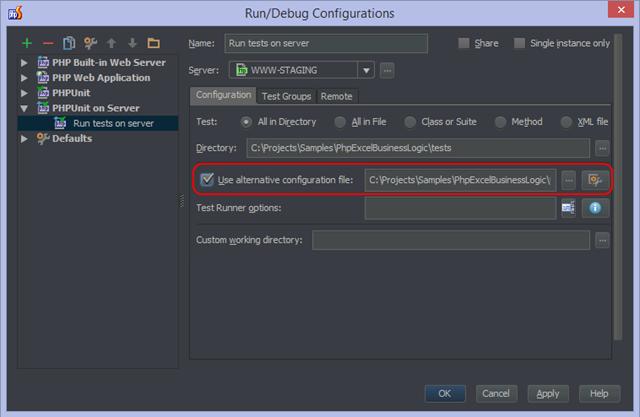 Configuration using XML