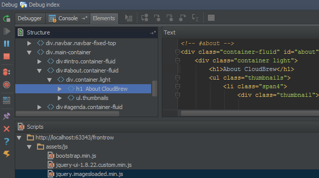 Improved JavaScript Debugger