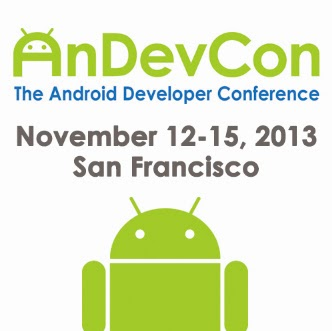 AnDevCon 2013 SF