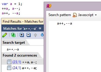ReSharper 8.1 JavaScript Postfix Prefix Matching