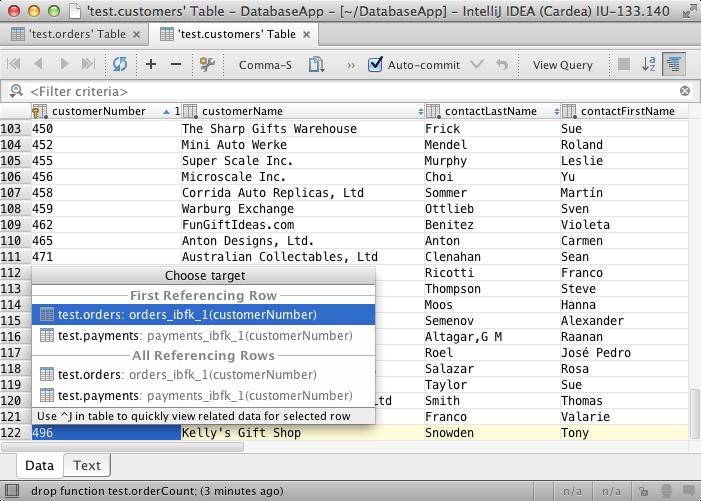 how to find webmatrix database file