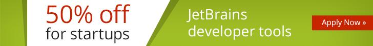 JetBrains Startup Discount Plan