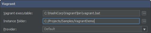 Vagrant Instance Folder