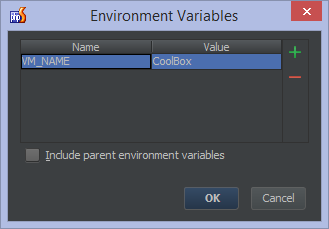 Vagrant environment variable