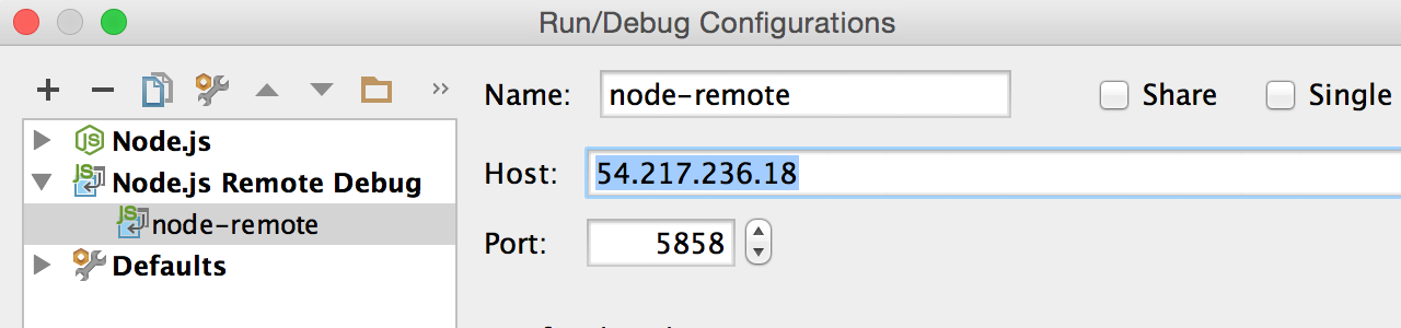 nodejs-remote-configuration