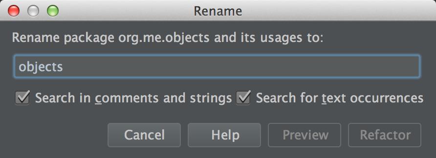 Rename Package