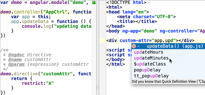 WebStorm Users Tips - Magazine cover