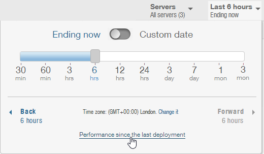 new-relic-performance-since-last-deployment